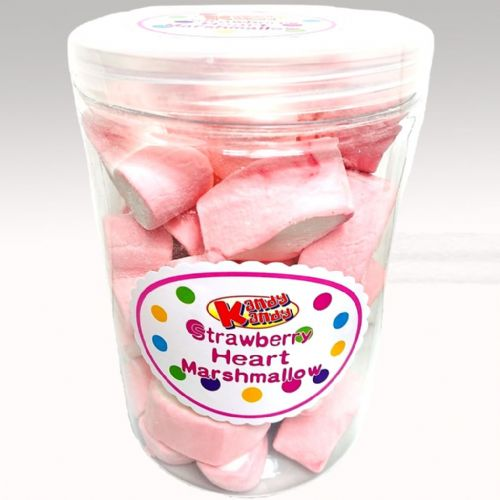 STRAWBERRY HEART MARSHMALLOW 180g